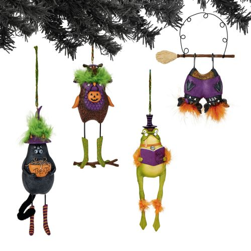 Department 56 Creature Ornaments Set of 4